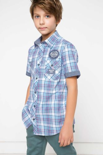 Genç Erkek Cepli Gömlek DeFacto