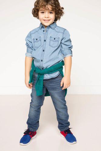 Mini Me Erkek Çocuk Denim Pantolon DeFacto
