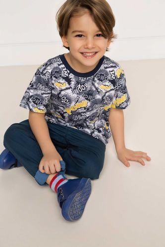 Paça Katlamalı Erkek Çocuk 5 Cep Pantolon DeFacto