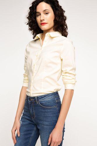 Uzun Kol Basic Gömlek DeFacto