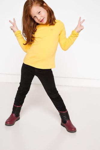 Kız Çocuk Kadife Pantolon DeFacto