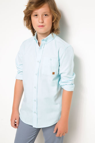 Genç Erkek Basic Gömlek DeFacto