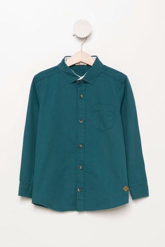 Basic Tek Cep Gömlek DeFacto