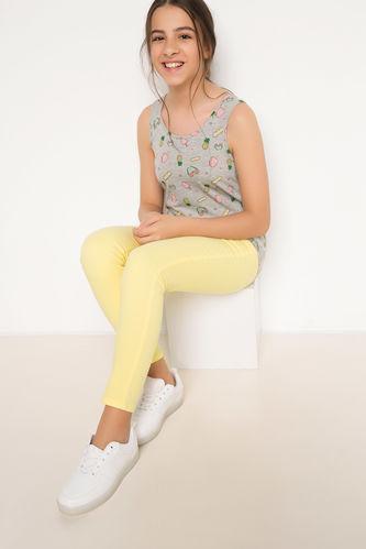 Genç Kız 5 Cep Slim Pantolon DeFacto