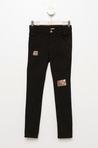 Genç Kız Slim Fit Pantolon DeFacto