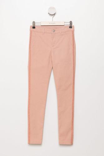 Genç Kız Boncuklu 5 Cep Pantolon DeFacto