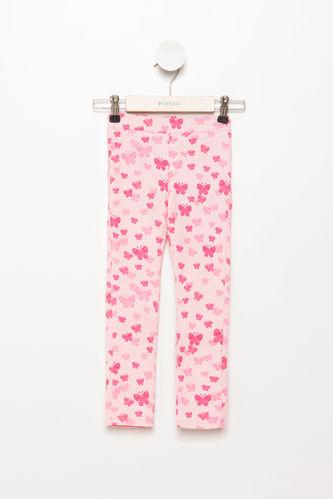 Slim Fit Kız Çocuk Pantolon DeFacto