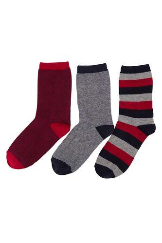 Genç Erkek 3'lü Çorap DeFacto