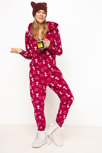 Snoopy Lisanslı Pijama Tulum DeFacto